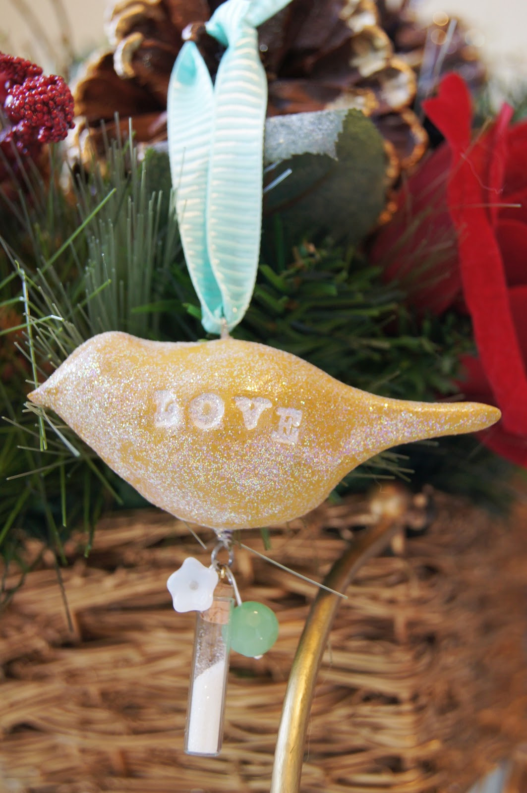 Handmade Christmas ornaments Fresh Handmade Holiday Clay Bird ornaments Of Charming 48 Pictures Handmade Christmas ornaments