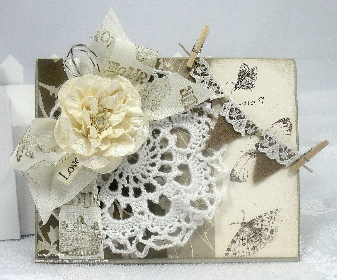 Handmade Doilies Unique Handmade Shabby Chic Vintage French Card Doily Stamped Of Unique 40 Pics Handmade Doilies