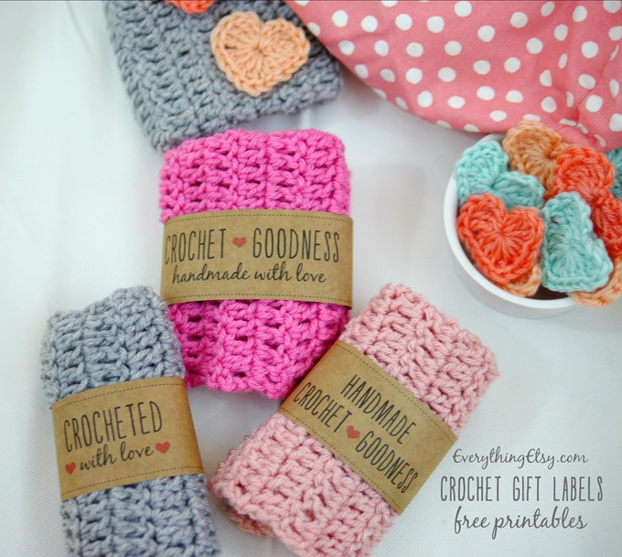Handmade Labels for Crochet Beautiful Handmade Crochet Gift Labels Free Printables Of New 49 Photos Handmade Labels for Crochet