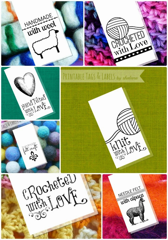 Handmade Labels for Crochet Best Of the Funky Felter Tags Labels & Printables for Your Of New 49 Photos Handmade Labels for Crochet