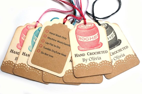 Handmade Labels for Crochet Elegant Crocheted by Gift Tags Hand Crocheted by Tags by Of New 49 Photos Handmade Labels for Crochet