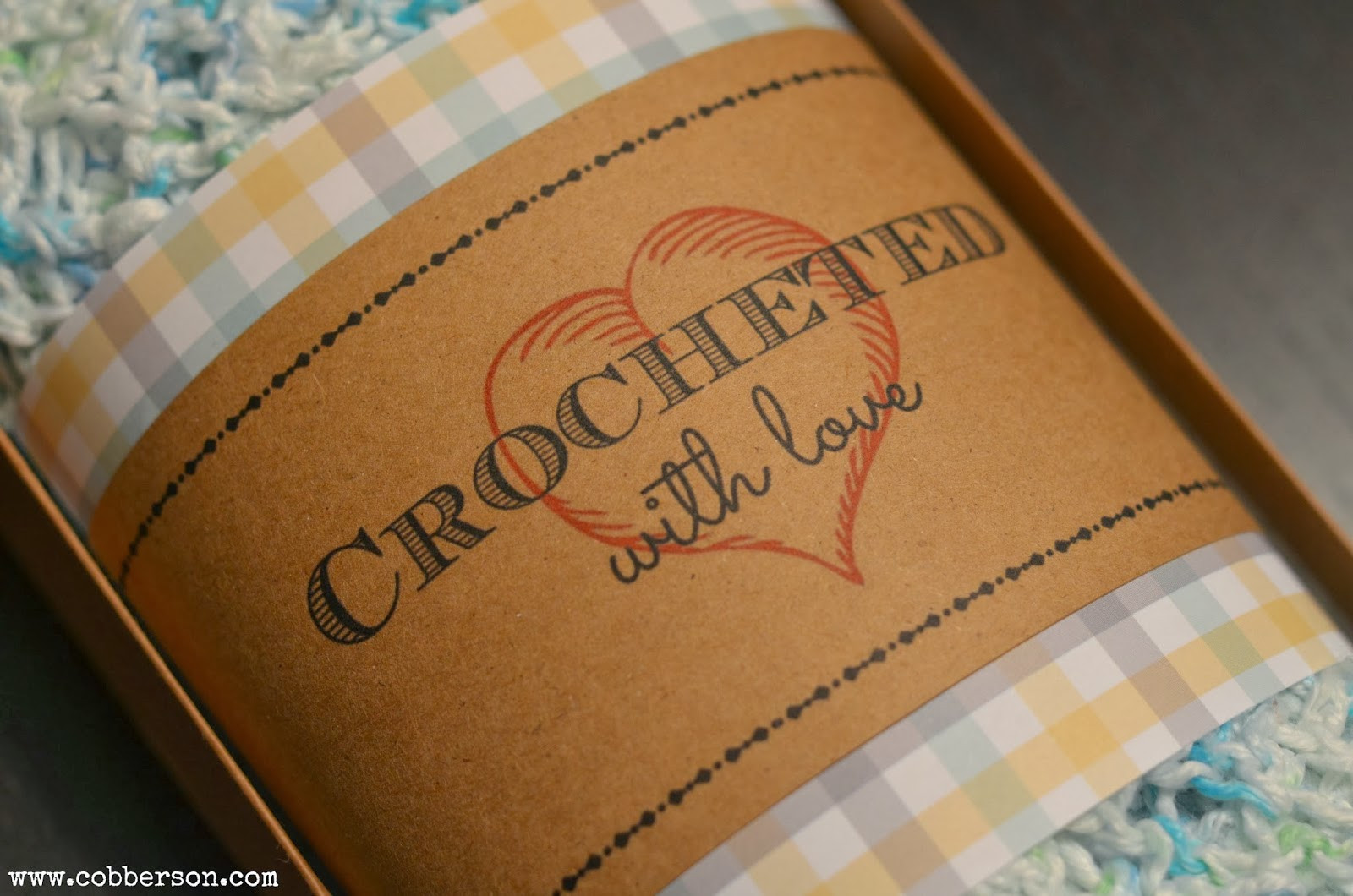 Crocheted with love free printable t tag