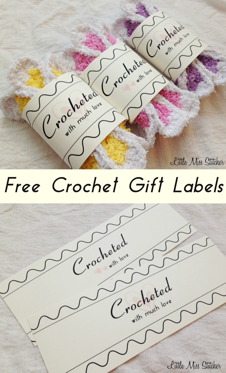 Handmade Labels for Crochet Luxury Little Miss Stitcher Free Crochet Gift Label Of New 49 Photos Handmade Labels for Crochet