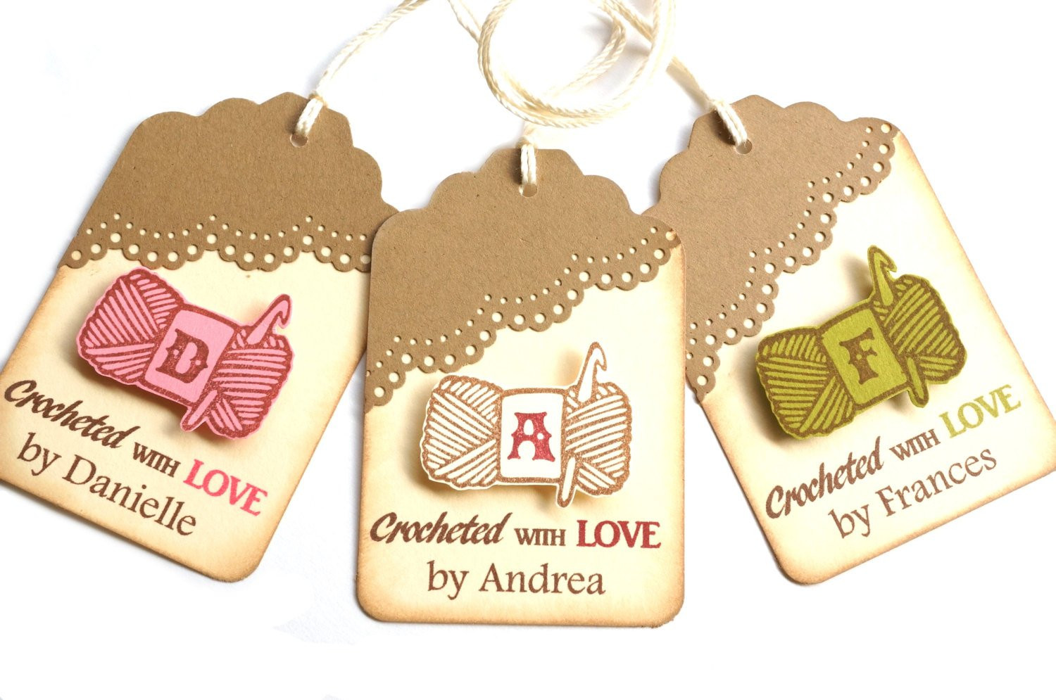 Handmade Labels for Crochet Luxury Personalized Crochet Tags Crochet Tags by Melodysmoments Of New 49 Photos Handmade Labels for Crochet