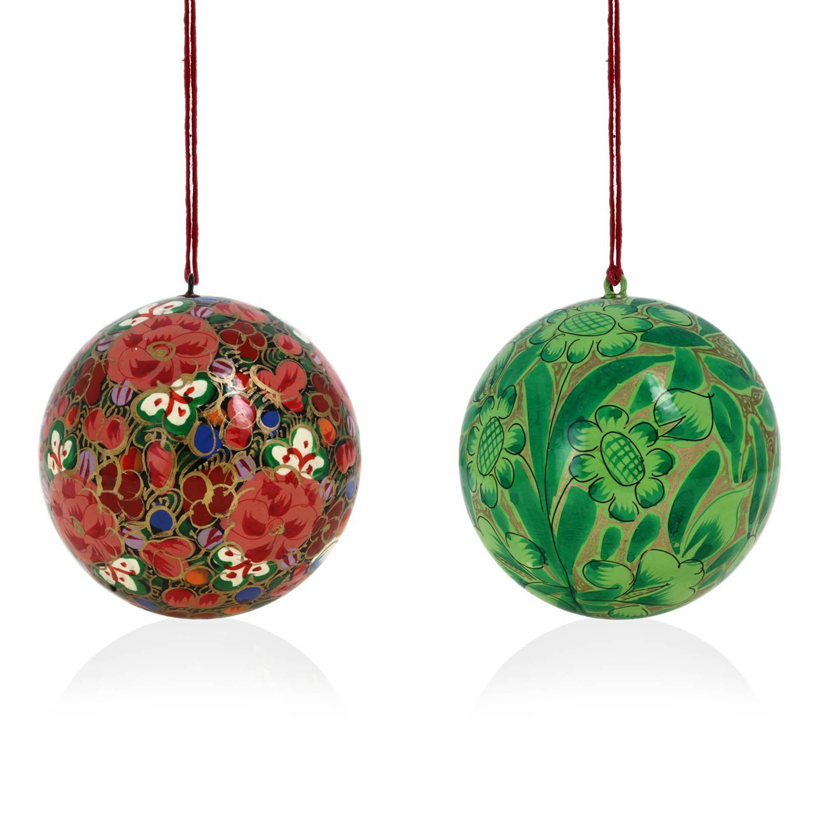 Hanging Christmas ornaments Awesome Decoration Christmas ornaments Handmade Paper Mache Of Luxury 45 Pictures Hanging Christmas ornaments