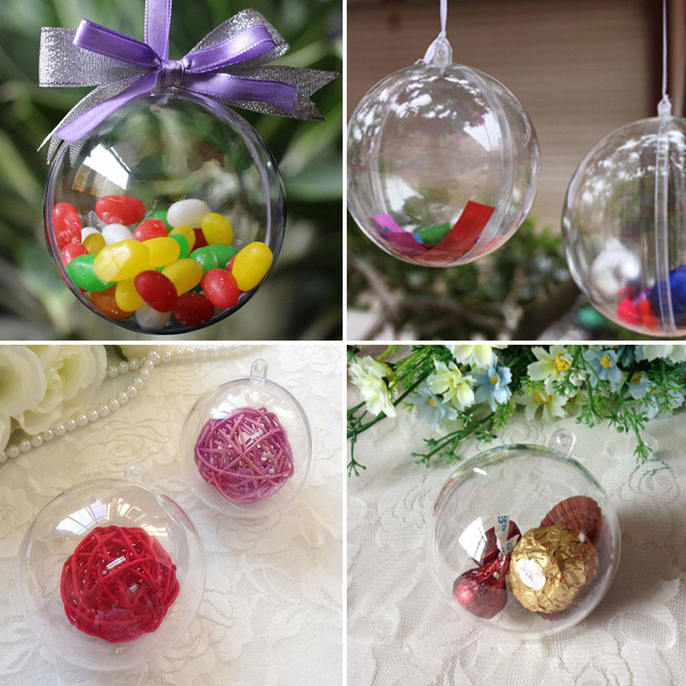 Hanging Christmas ornaments Awesome New 8cm Clear Christmas Decoration Hanging Ball Baubles Of Luxury 45 Pictures Hanging Christmas ornaments