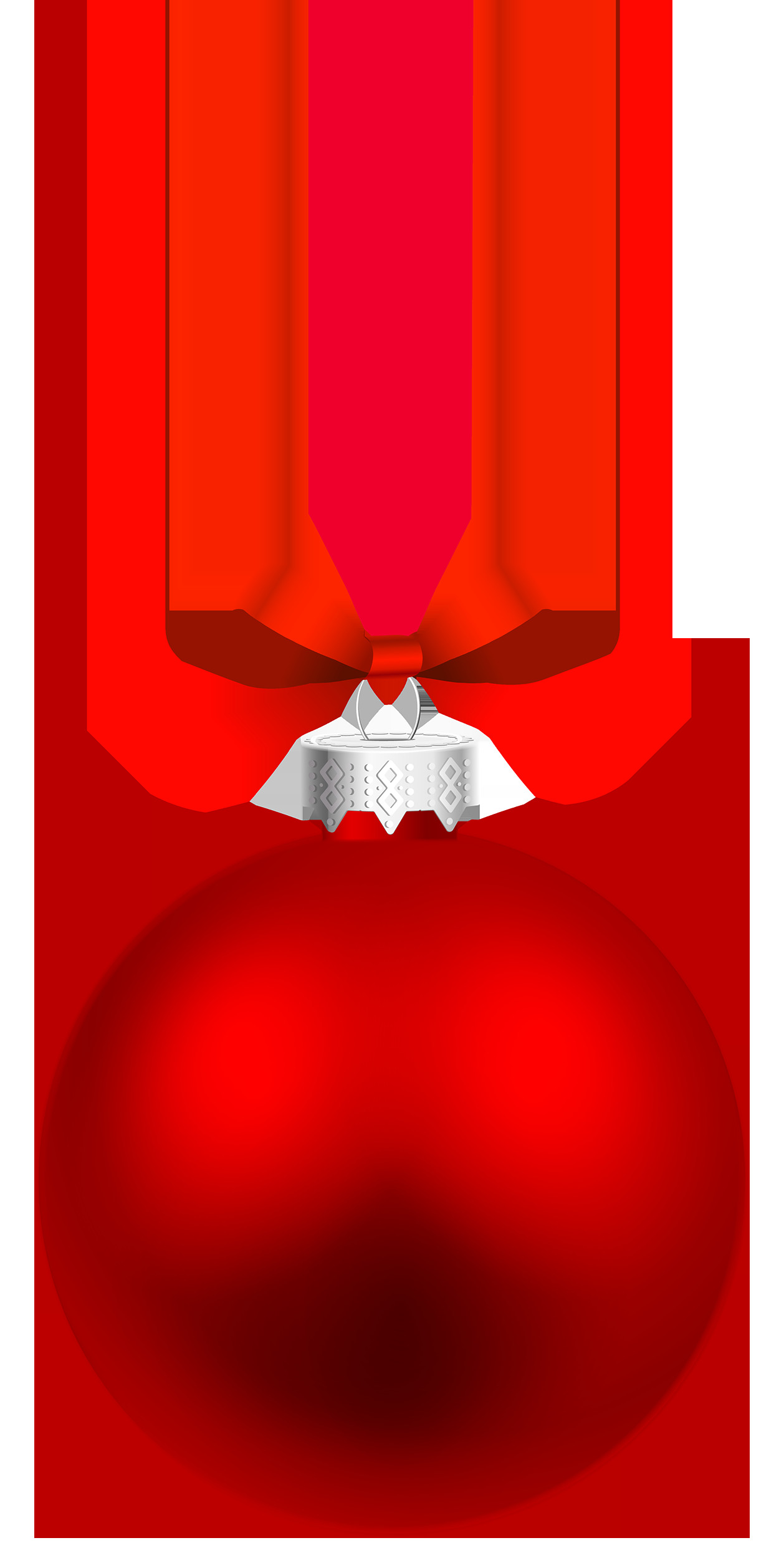 Red Hanging Christmas Ball PNG Clipart Best WEB Clipart