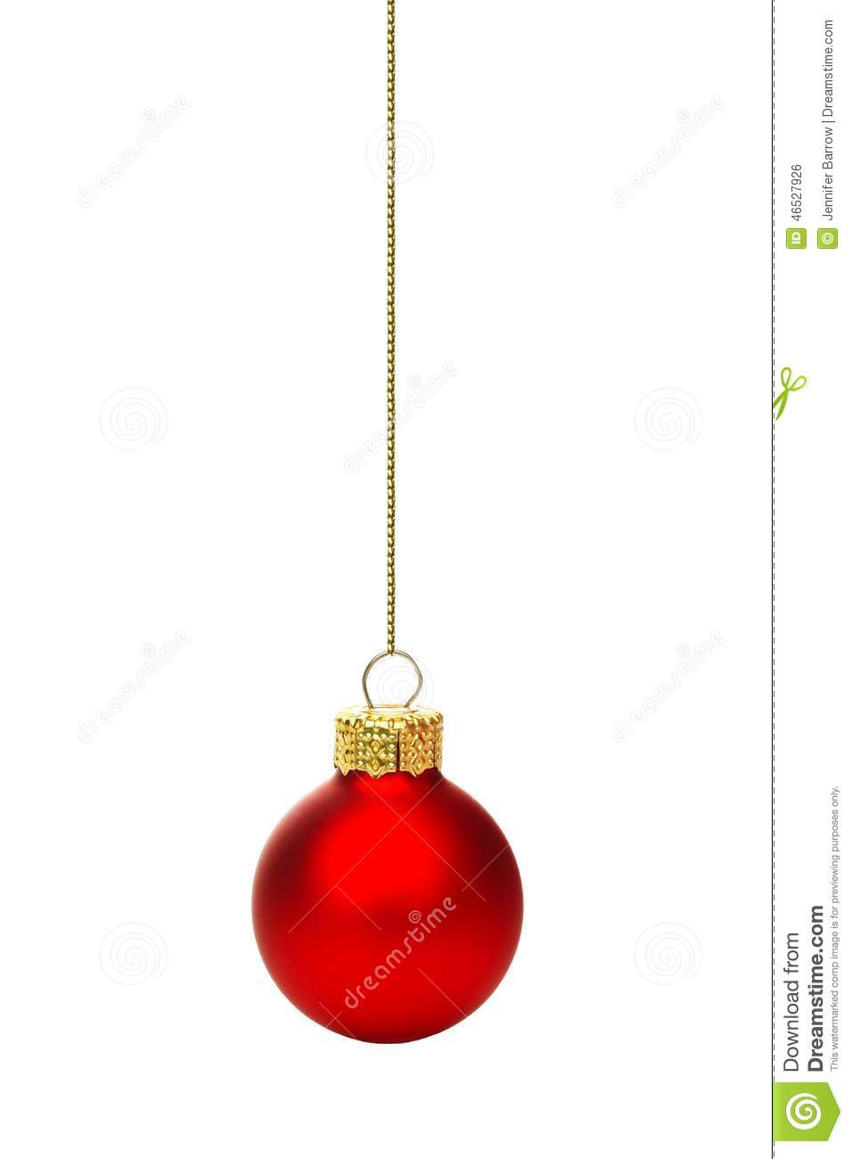 Hanging Christmas ornaments Lovely Hanging Red Christmas ornament isolated Stock Of Luxury 45 Pictures Hanging Christmas ornaments
