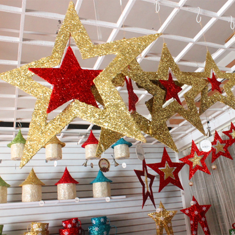 Hanging Christmas ornaments Unique Christmas ornaments Shiny Star Xmas Tree Ceiling Wall Of Luxury 45 Pictures Hanging Christmas ornaments
