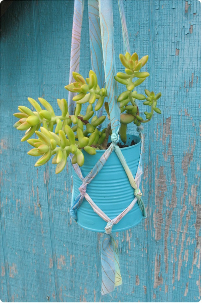 Hanging Plant Holders Beautiful Diy Crafts From Recycled Items – Diy Ideas Tips Of Wonderful 48 Ideas Hanging Plant Holders