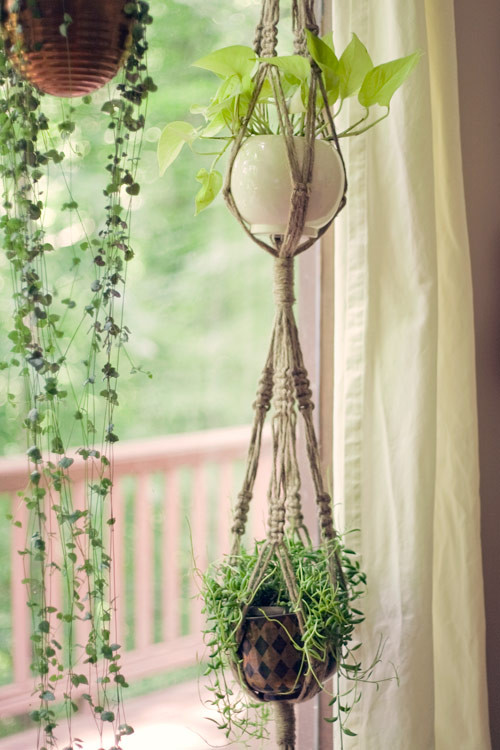 Hanging Plant Holders Beautiful Macramé Plant Hangers Of Wonderful 48 Ideas Hanging Plant Holders