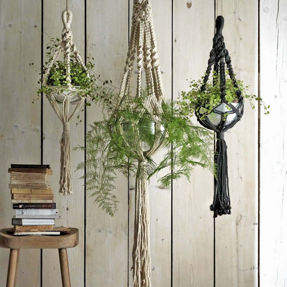 Hanging Plant Holders Best Of Cool Macrame Plant Hanger Ideas for Your Sweet Home Of Wonderful 48 Ideas Hanging Plant Holders