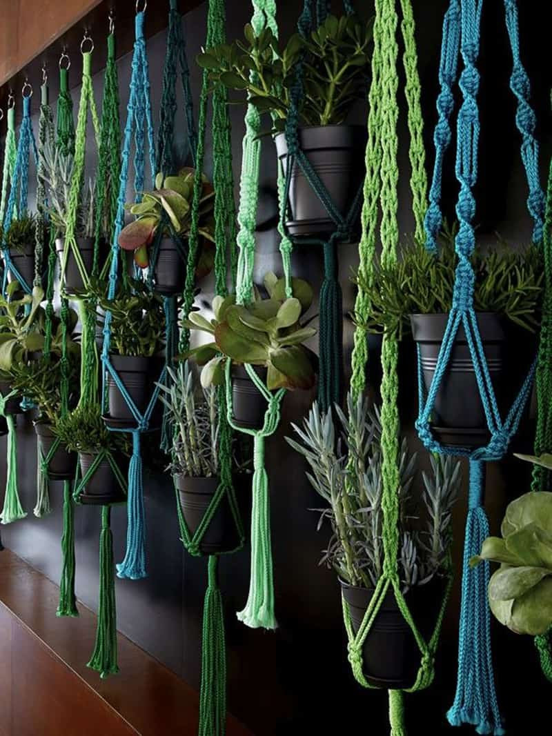 Hanging Plant Holders Elegant Macrame Plant Hanger Patterns to Embellish Any Rustic or Of Wonderful 48 Ideas Hanging Plant Holders
