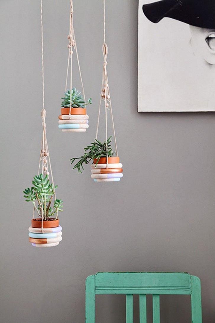 Hanging Plant Holders Fresh Cool Macrame Plant Hanger Ideas for Your Sweet Home Of Wonderful 48 Ideas Hanging Plant Holders