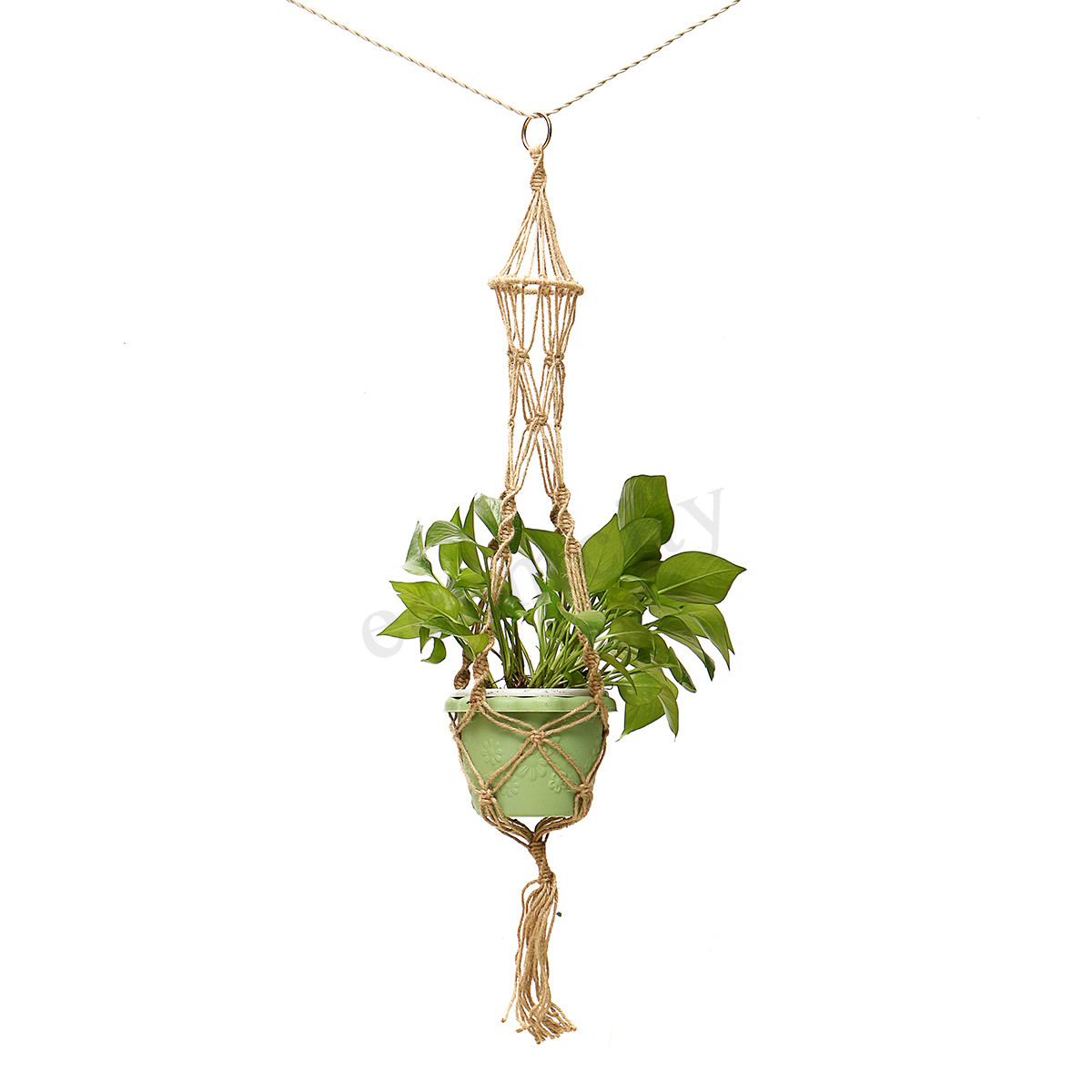 Hanging Plant Holders Fresh Handmade Jute Macrame Cord Plant Hanger Flower Pot Holder Of Wonderful 48 Ideas Hanging Plant Holders