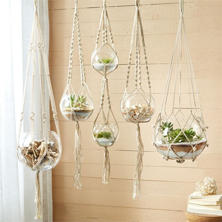 Hanging Plant Holders Lovely 25 Best Ideas About Macrame Plant Hangers On Pinterest Of Wonderful 48 Ideas Hanging Plant Holders