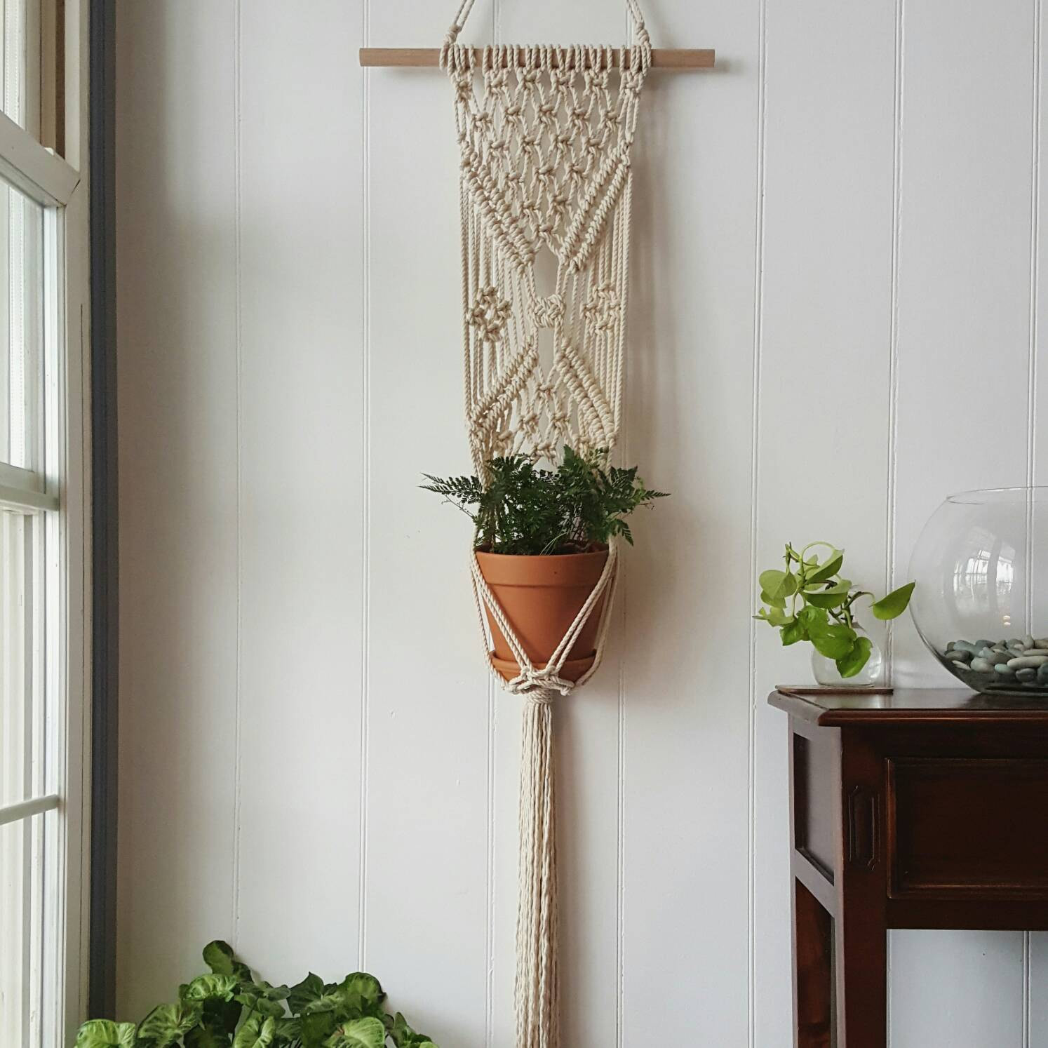 Hanging Plant Holders Lovely Ready to Ship Macrame Plant Hanger Of Wonderful 48 Ideas Hanging Plant Holders