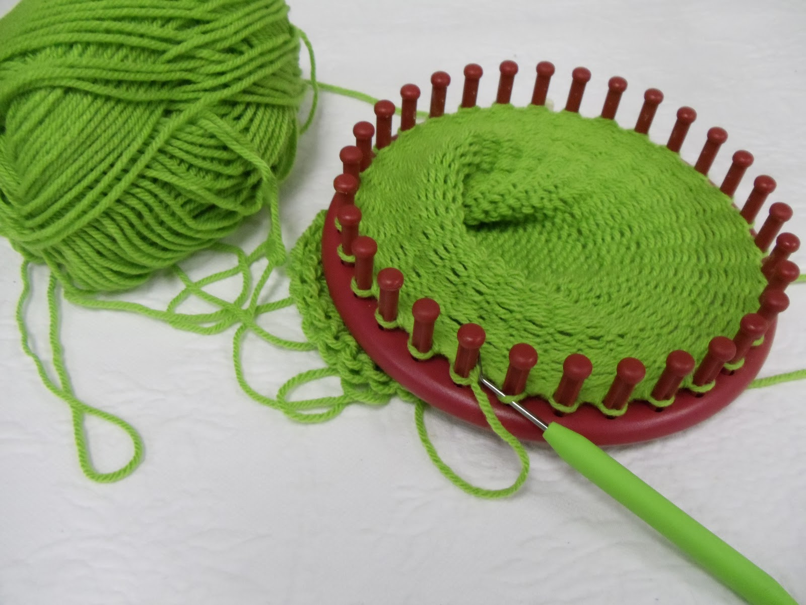 Hat Loom New Everyday Life at Leisure Loom Knitting — My First Hat Of Amazing 48 Pictures Hat Loom