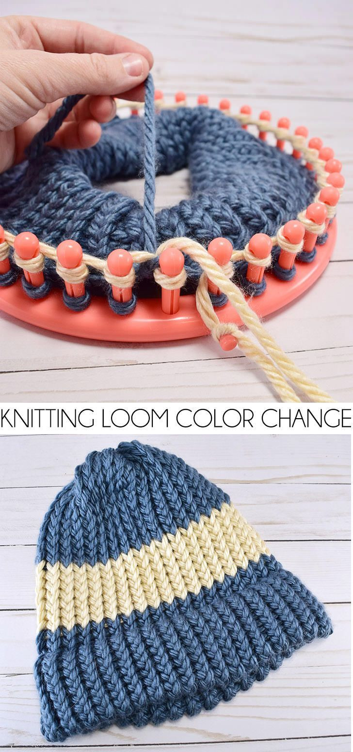 Hat Loom New the 25 Best Loom Knitting Patterns Ideas On Pinterest Of Amazing 48 Pictures Hat Loom