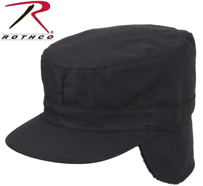 Hat with Ear Flaps Awesome Black Military Style Cold Weather Patrol Fatigue Cap with Of Top 42 Photos Hat with Ear Flaps