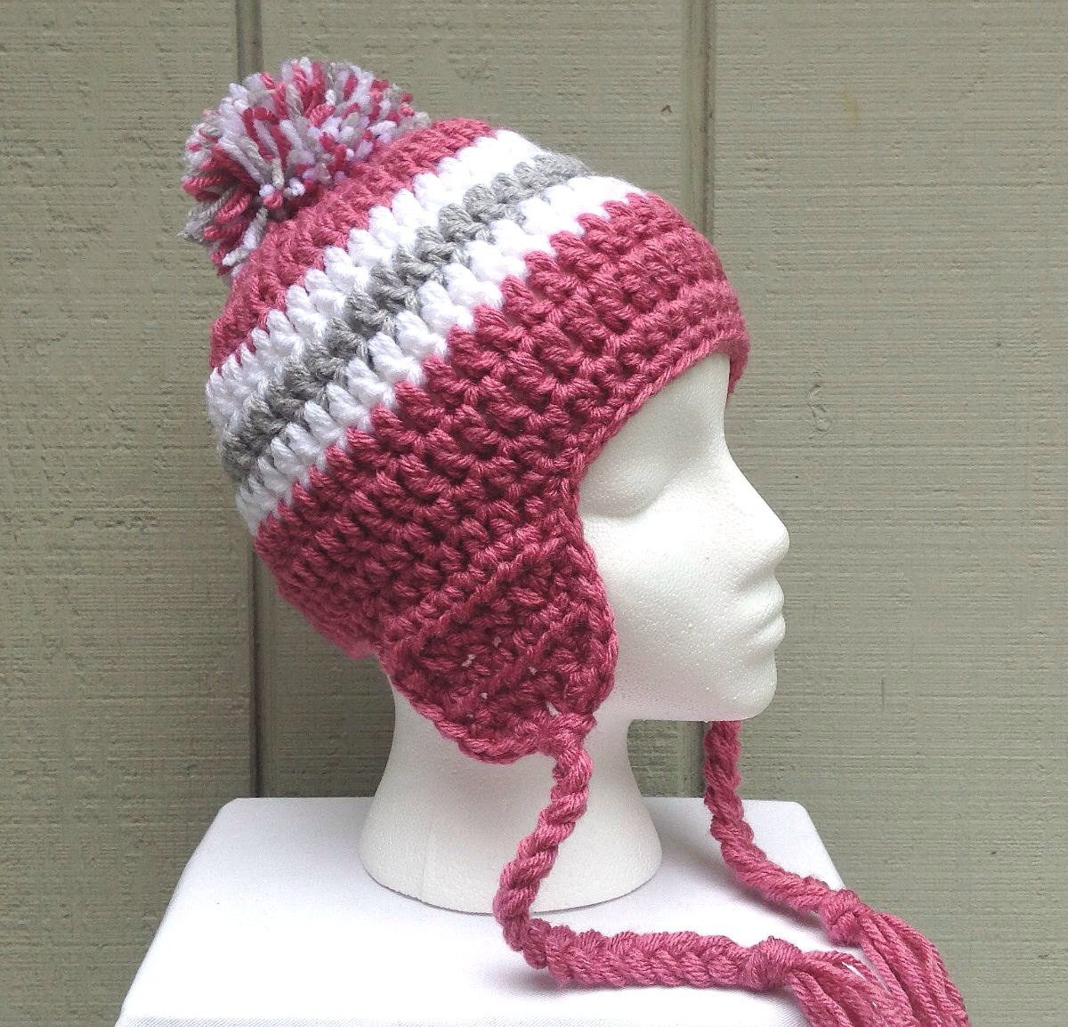 Hat with Ear Flaps Luxury Crochet Ear Flap Hat Womens Beanie with Braids by Of Top 42 Photos Hat with Ear Flaps