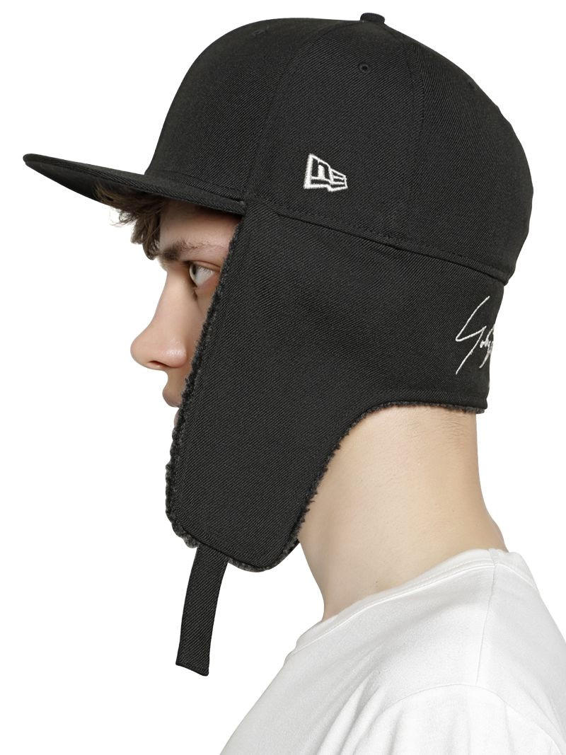 Hat with Ear Flaps Unique Lyst Yohji Yamamoto Wool Baseball Hat with Ear Flaps In Of Top 42 Photos Hat with Ear Flaps