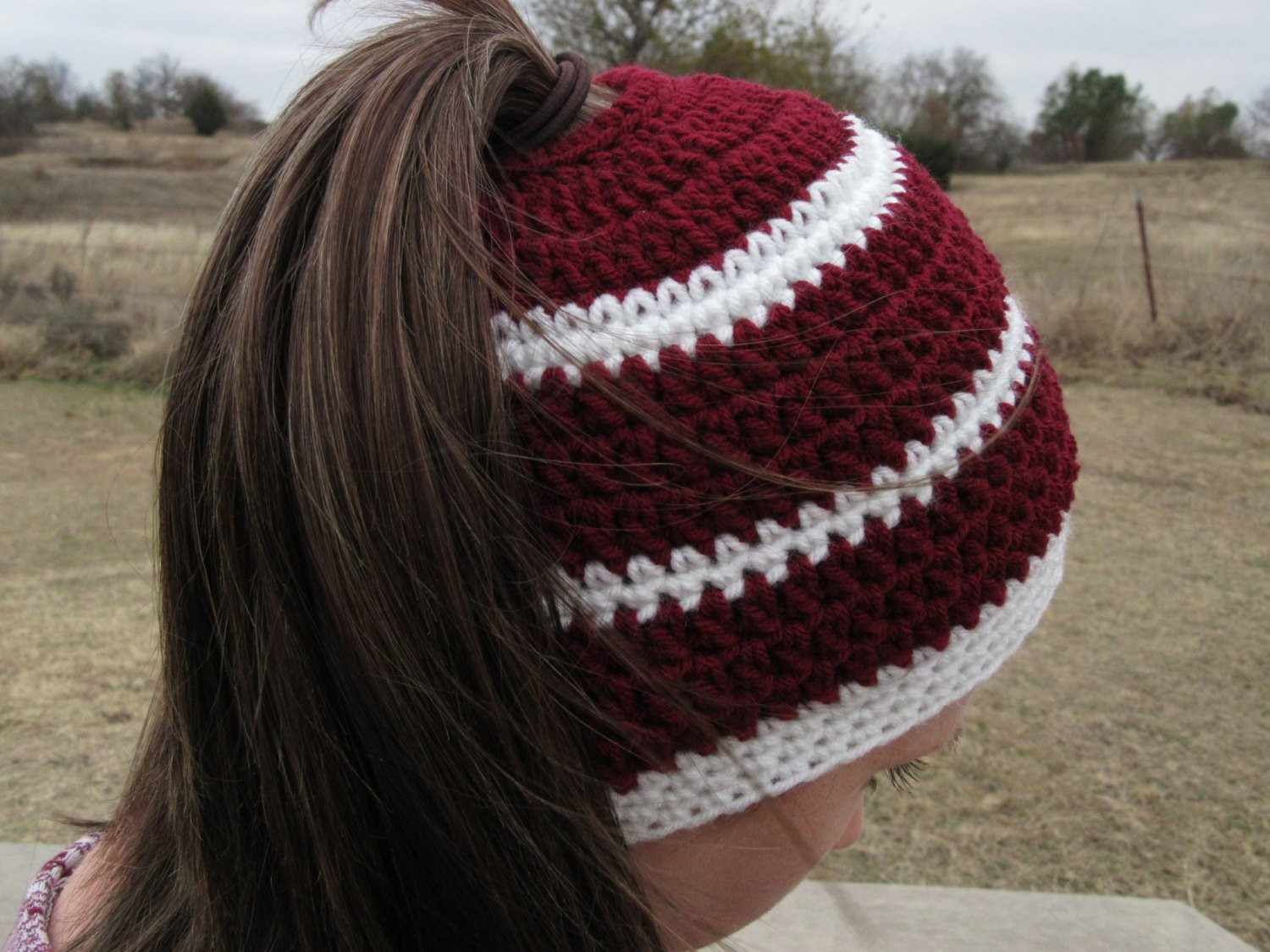 Hat with Ponytail Hole Lovely Ponytail Hat Crochet Hat Ponytail Hole by Countyroadcrochet Of Superb 42 Pictures Hat with Ponytail Hole