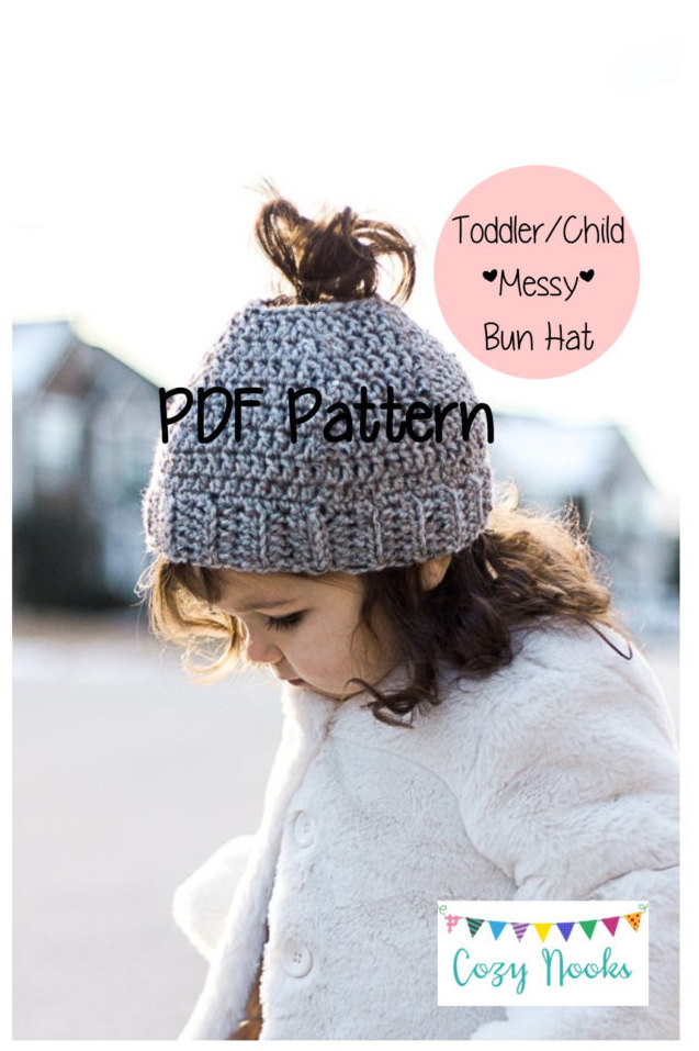 Hats for Buns Beautiful Messy Bun Hat Pattern toddler Child Messy Bun Beanie Of Wonderful 40 Photos Hats for Buns