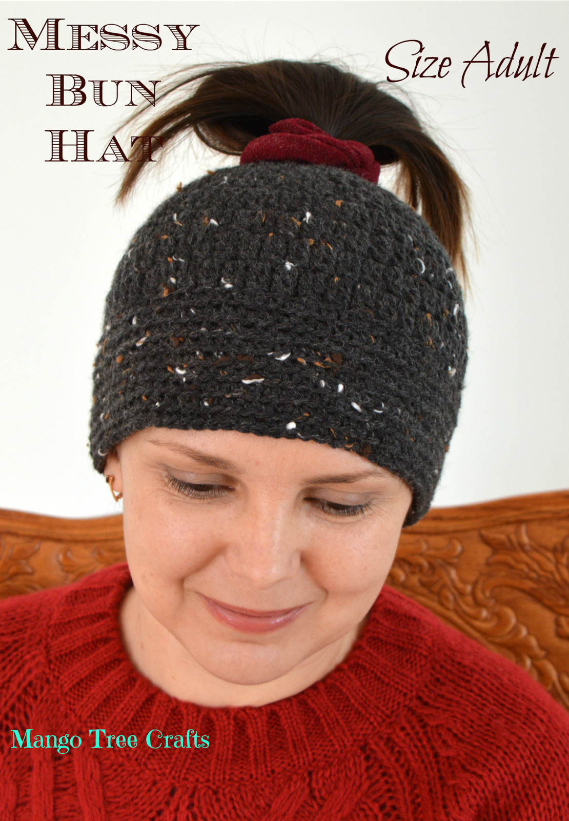 Hats for Buns Luxury Messy Bun Hat Free Crochet Pattern Size Adult Of Wonderful 40 Photos Hats for Buns