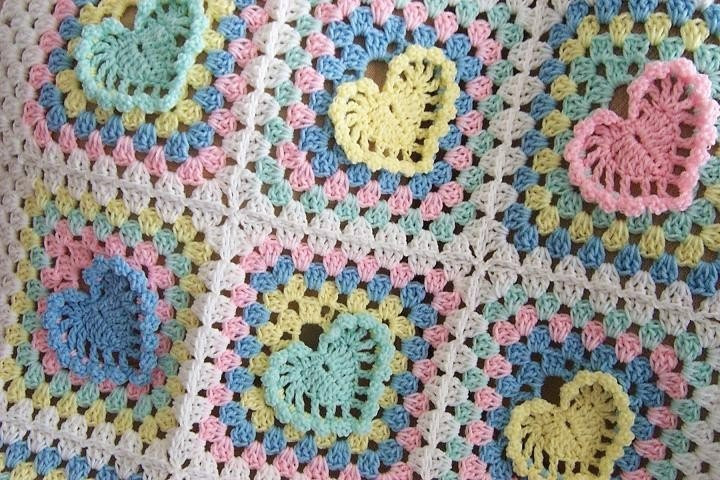 Heart Afghan Crochet Pattern Awesome Free Crochet Heart Pattern Afghan Squares Of Top 48 Models Heart Afghan Crochet Pattern