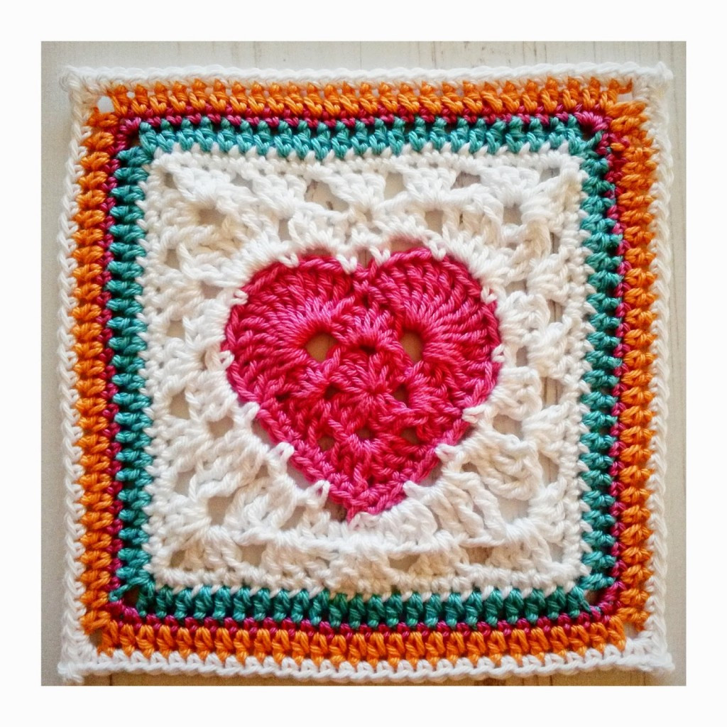 Heart Afghan Crochet Pattern Best Of Crochet Squares ⋆ Knitting Bee 38 Free Knitting Patterns Of Top 48 Models Heart Afghan Crochet Pattern