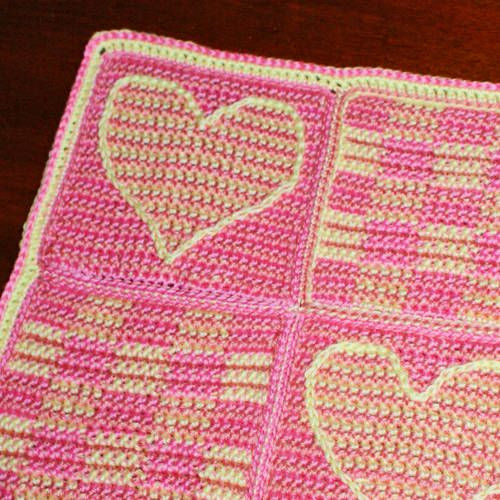 Heart Afghan Crochet Pattern Inspirational 41 Best Images About 3d Illusion Afghans On Pinterest Of Top 48 Models Heart Afghan Crochet Pattern