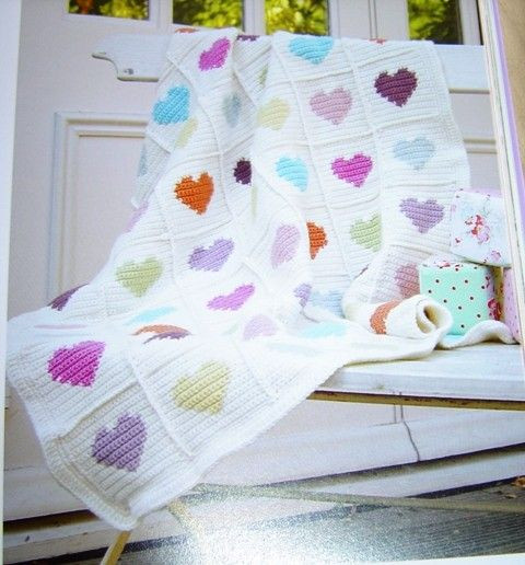 Heart Baby Blanket Awesome 25 Best Ideas About Crochet Heart Blanket On Pinterest Of Adorable 45 Pictures Heart Baby Blanket
