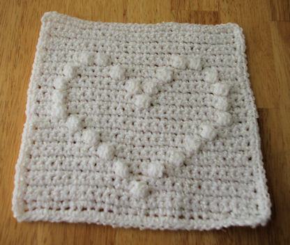 Heart Baby Blanket Crochet Pattern Unique Puff Stitch Heart Afghan Square Crochet Pattern Free Of Gorgeous 43 Ideas Heart Baby Blanket Crochet Pattern