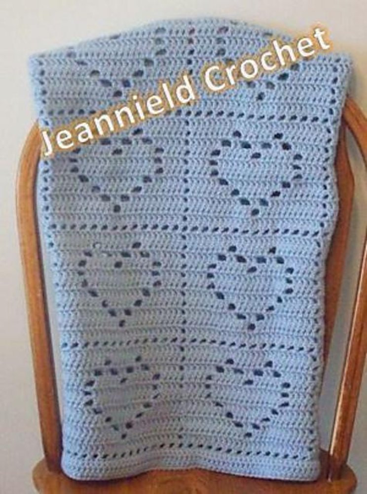 Heart Baby Blanket Lovely Heart Baby Blanket Crochet Pattern by Jeannie Davis Of Adorable 45 Pictures Heart Baby Blanket