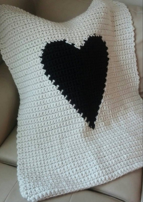 Heart Baby Blanket New Modern Heart Baby Blanket Pattern Crochet Of Adorable 45 Pictures Heart Baby Blanket