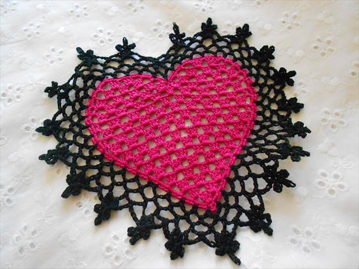 Heart Doilies Beautiful 42 Quick & Easy Crochet Doily Pattern Of Marvelous 46 Photos Heart Doilies