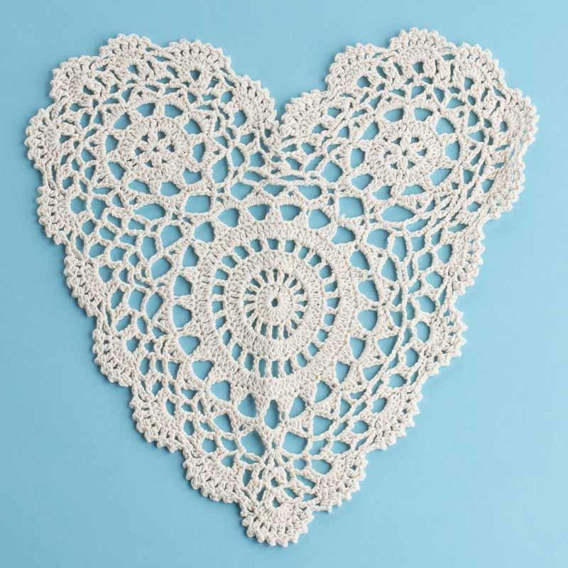Heart Doilies Best Of Ecru Heart Crocheted Doily Crochet and Lace Doilies Of Marvelous 46 Photos Heart Doilies