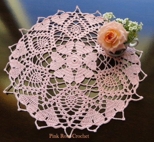 Lovely Heart Doilies to Crochet – 14 free patterns