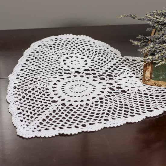 Heart Doilies Best Of White Heart Doily Crochet and Lace Doilies Home Of Marvelous 46 Photos Heart Doilies