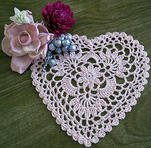 Heart Doilies Lovely Rosesnlace S Cluster Heart Doily Of Marvelous 46 Photos Heart Doilies