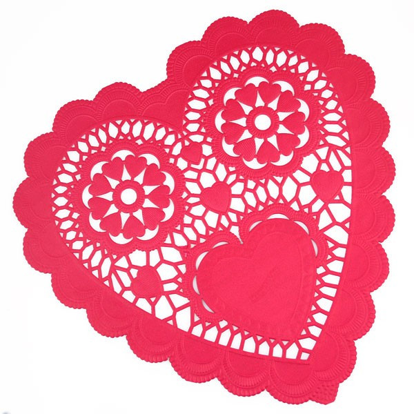 Heart Doilies New Red Heart Doilies Pipii Of Marvelous 46 Photos Heart Doilies