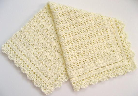 Heirloom Baby Blanket Awesome Items Similar to Crocheted Baby Afghan Heirloom Lace Of Awesome 42 Ideas Heirloom Baby Blanket