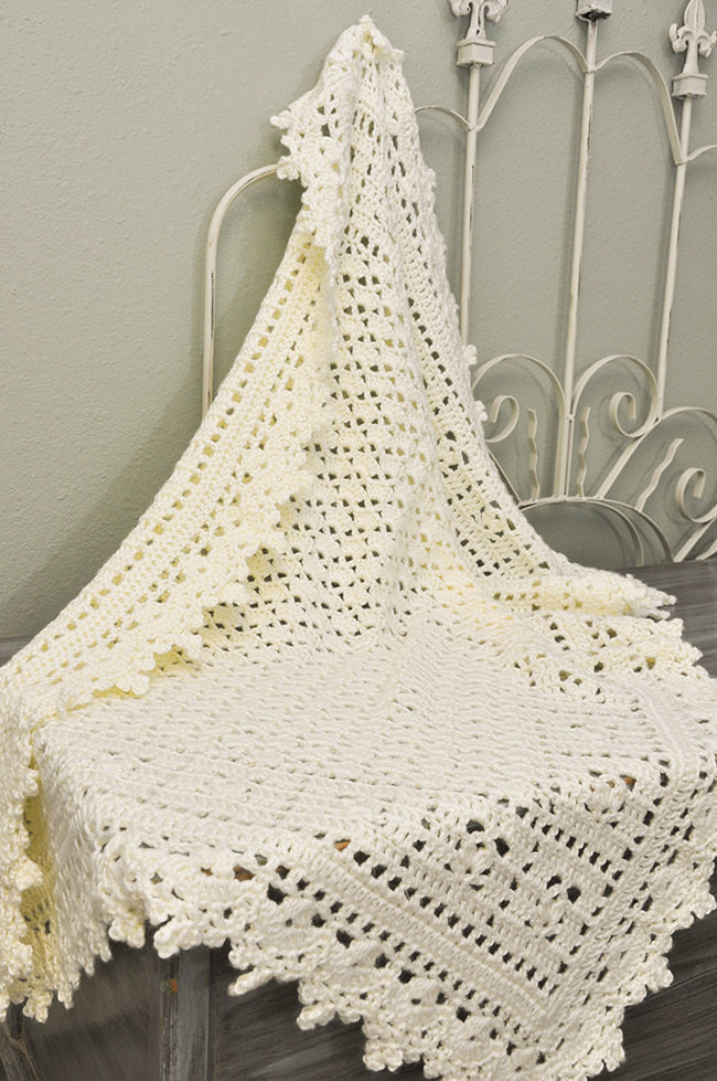Heirloom Baby Blanket Luxury Crochet Baby Blanket Cream Lacy Heirloom Blanket Ready to Of Awesome 42 Ideas Heirloom Baby Blanket