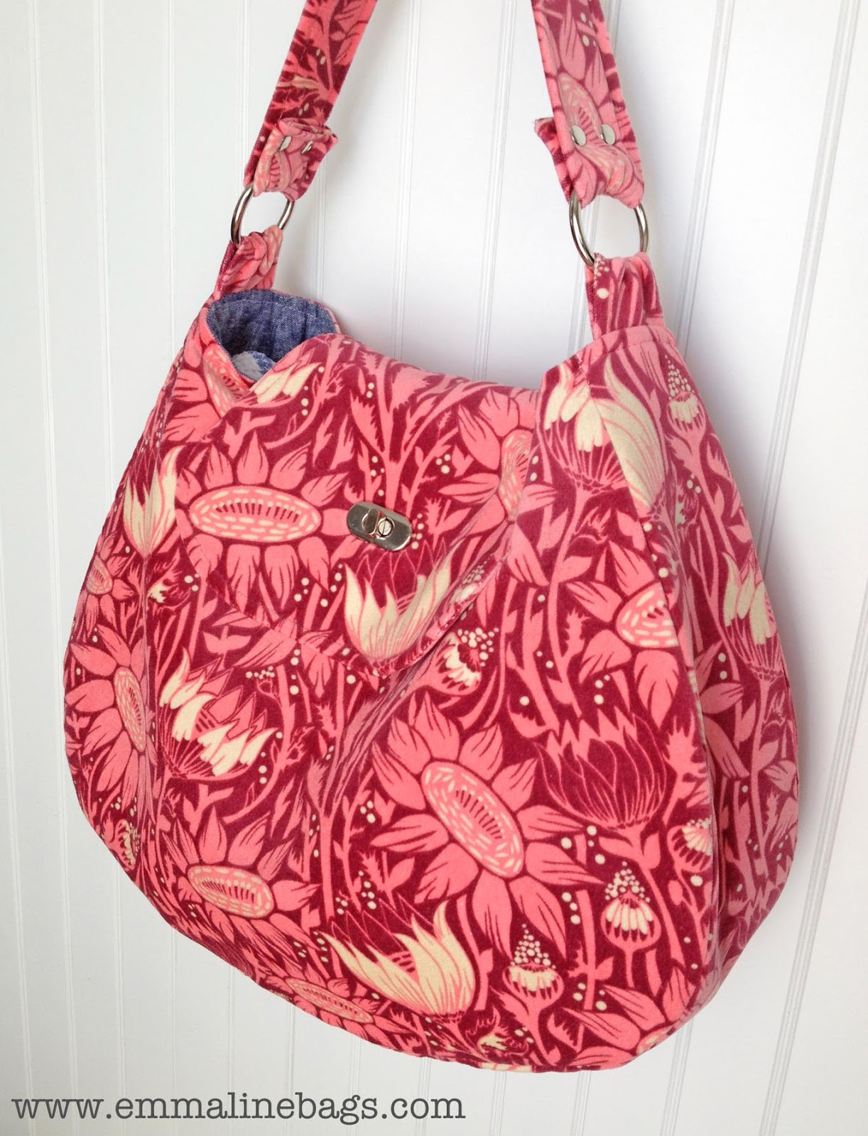 Hobo Bag Pattern Awesome Emmaline Bags Sewing Patterns and Purse Supplies Sewing Of Superb 45 Models Hobo Bag Pattern