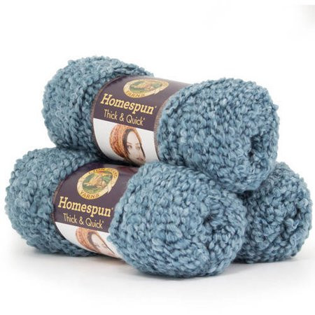 Lion Brand Yarn Homespun Thick and Quick Acrylic Fashion