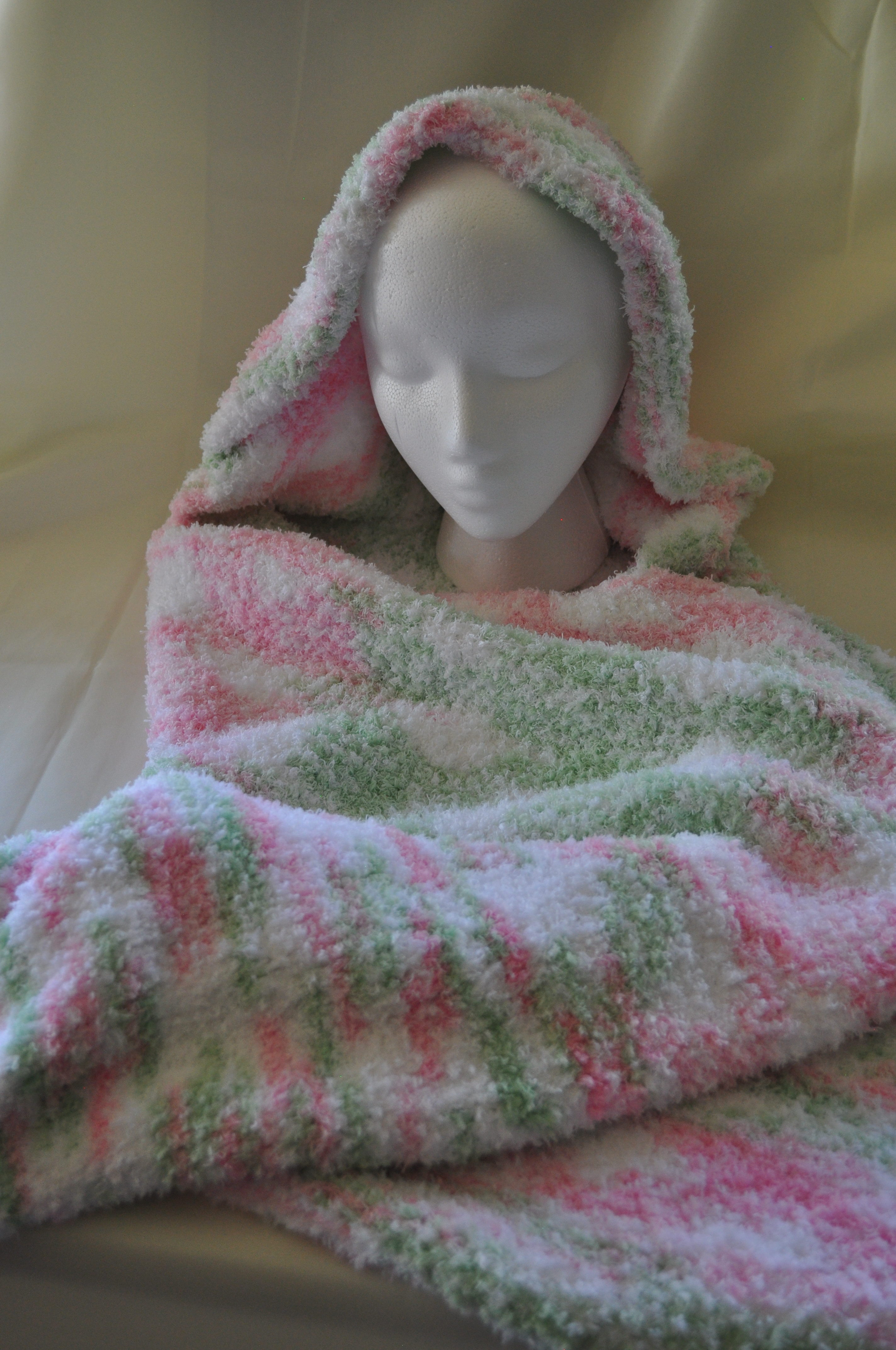 Hooded Baby Blanket Inspirational Knitted Hooded Baby Blanket – Mas Knits and Gifts Of Contemporary 45 Ideas Hooded Baby Blanket