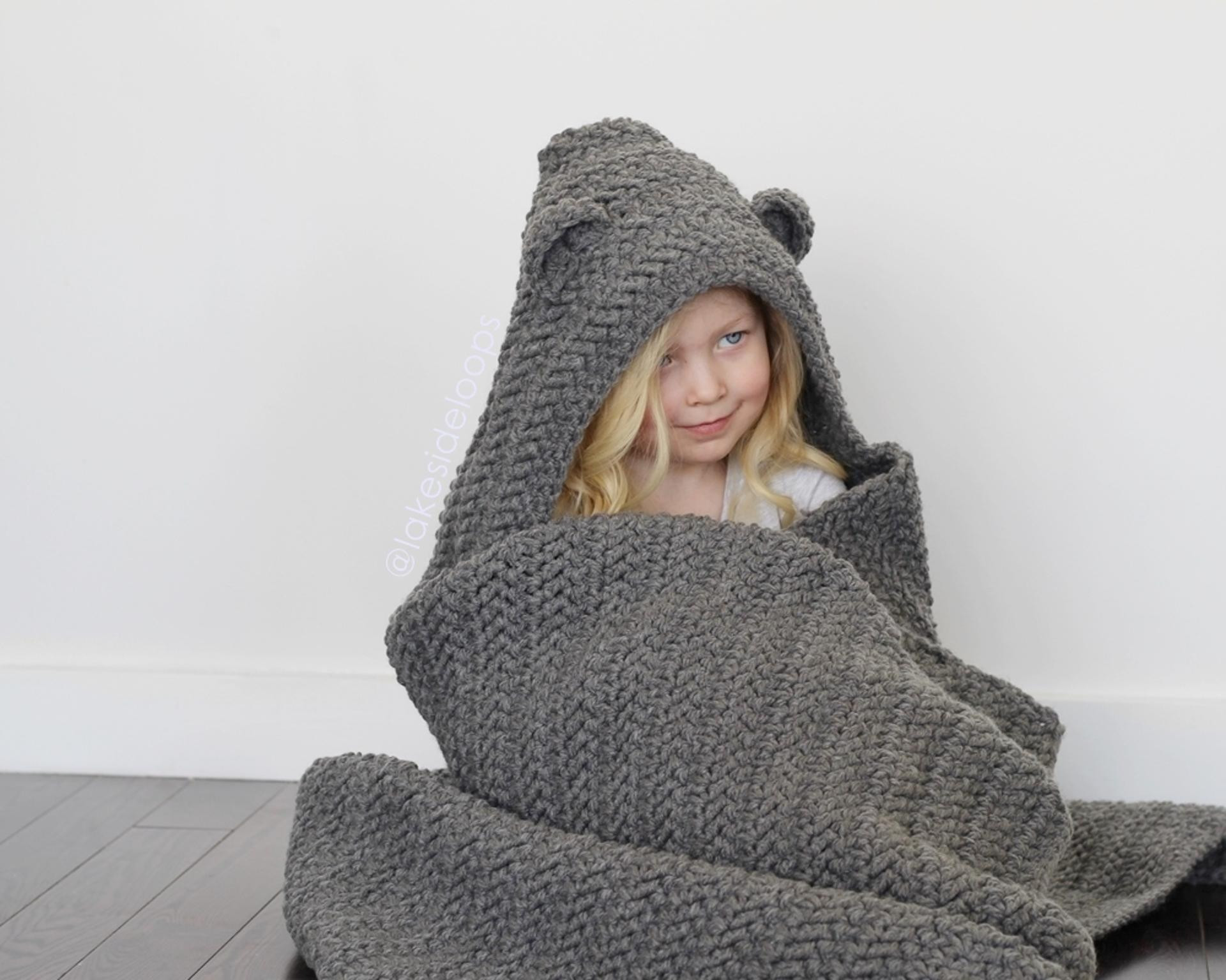 Hooded Blanket Pattern Luxury 10 Crochet Hooded Blanket Patterns for Kids and Adults Of Marvelous 46 Pics Hooded Blanket Pattern