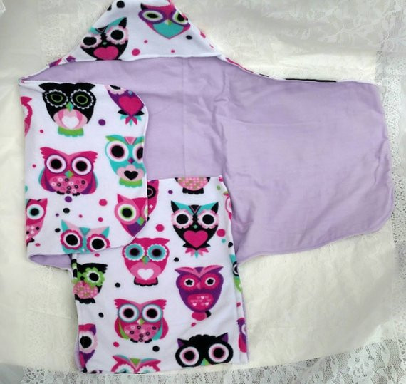 Hooded Owl Blanket Awesome Hooded Baby Blanket Wrap Blanket Swaddle Blanket Owl Of New 47 Images Hooded Owl Blanket