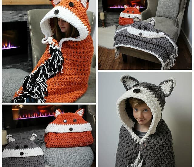 Hooded Owl Blanket Best Of Crochet Hooded Fox Blanket Pattern Of New 47 Images Hooded Owl Blanket